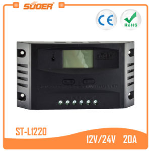 Suoer 12V 24V 20A Solar Charger Controller (ST-L1220) pictures & photos
