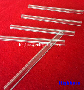 Fire Polish Clear Arc Fused Quartz Glass Board pictures & photos