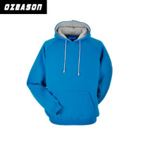 Customized Good Quality Cotton Plain Fashion Unisex Winter Hoody (HD019) pictures & photos