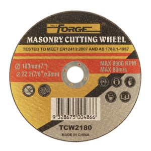 180*3*22.2mm Flat Type Stone Cut off Disc Masonry Cutting-off Wheel pictures & photos