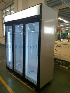 Supermarket Beverage Commercial Refrigerator Energy Drink Coolers pictures & photos