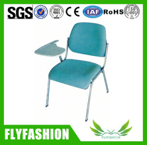 Popular School Furniture Student Fabric Chair with Writing Pad (SF-35F) pictures & photos