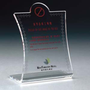 Custom Acrylic Small Laser Engraved Name Plates pictures & photos