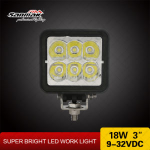 Hot Sale 18watt 3inch LED Heavy Duty Work Light pictures & photos