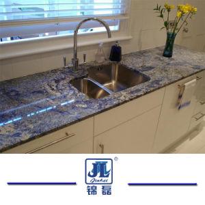 Azul Brazil Blue Bahia Granite Slab for Top Hotel Decoration/Kitchen/Bathroom Granite/Quartz Countertops/Vanity Tops pictures & photos