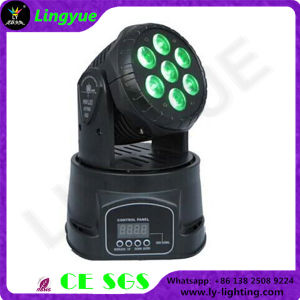 7X10W RGBW LED Beam Moving Head Light pictures & photos
