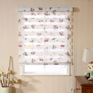 Printing Fabric Day and Night Roller Blinds for Children′s Room pictures & photos