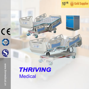 Hospital Electric ICU Bed with Weight Readings pictures & photos