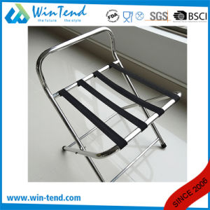 Stainless Steel Serving Tray Stand Rack with Handle pictures & photos