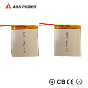 UL 504552 3.7V 1200mAh Li-Polymer Rechargeable Lithium Polymer Battery pictures & photos
