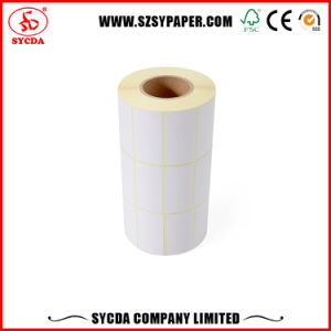 Thermal Adhesive Label Paper/Customized Vinyl Destructive Sticker pictures & photos