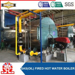 High Efficiency Central Combustion Oil Gas Fired Hot Water Boiler pictures & photos