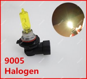 Original 2PCS 9005 Xenon Halogen Car Head Light Bulb Lamp Yellow Vision 12V 100W Fit for Fog Lamp or Headlight ^Jmq