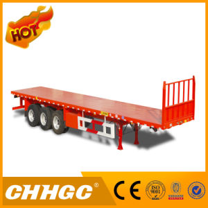 Hot Sale Manufacturer 40FT Flatbed Container Semi Trailer pictures & photos