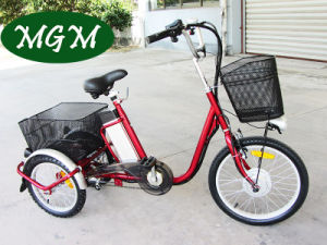 Electric Tricycle with 20 Inch Tire pictures & photos