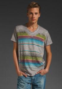 Men Print Cotton T-Shirt pictures & photos