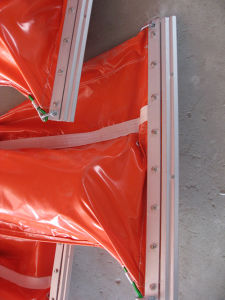 Orange Industrial Equipment PVC Oil Containment Boom pictures & photos