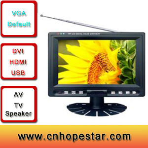 "7"" LCD Widescreen Monitor (AV, TV) pictures & photos"