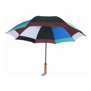 Assorted Colors Golf Umbrella (GU020) pictures & photos