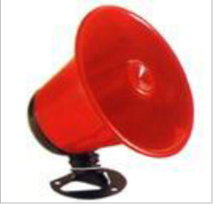 Red Bule or Gold Horn Speaker Car Electronic Siren pictures & photos