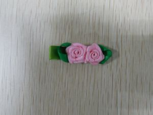 Hair Clips with Rose