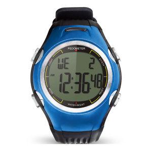 Trendy Design 3D Dual Alarm Pedometer Watch