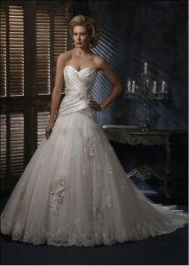 Elegant Wedding Dress (Z-043)