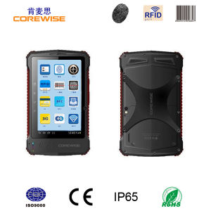 Android Tablet PC with Barcode Scanner, Fingerprint Sensor, Hf RFID pictures & photos