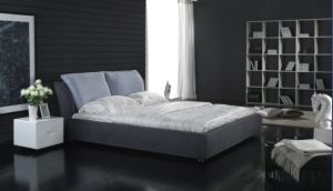 King Size Fabric Soft Bed, Bedroom Furniture pictures & photos