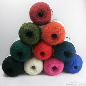 40nm/2, 60nm/2, 80nm/2 Silk/Cashmere Blended Yarn pictures & photos