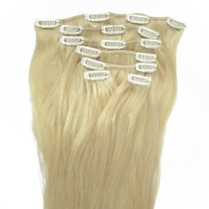 100% Human Hair Clip in Human Hair Extension pictures & photos