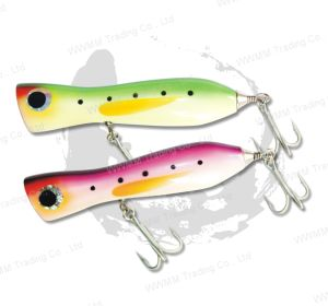 Fishing Lure, Fishing Tackle ,Plastic Lure--Saltwater / Trolling Wood Popper (HYT011) pictures & photos