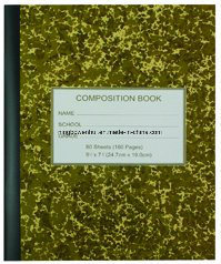 Cheap Composition Note Book pictures & photos
