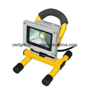 10W COB Outdoor LED Portable Flood Light Pf>95 pictures & photos