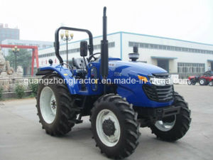 90-120HP, 4WD Farm Tractor Agricutural Wheeled Tractor pictures & photos