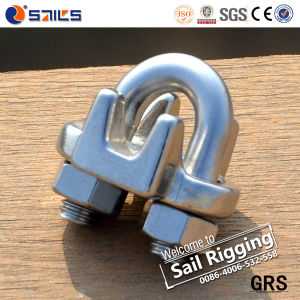 High Polished Us-Type Stainless-Steel A2&A4 Wire Rope Clip pictures & photos