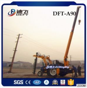 China Manufacturer of Dft-A90 Hydraulic Vibrating Pile Driver pictures & photos