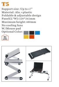 """Laptop Desk Flodable Alu. Panel up to 17"""" (T5) pictures & photos"""