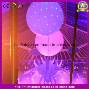 Attractive Inflatable Decoration LED Light Ball with LED Light for Decoration