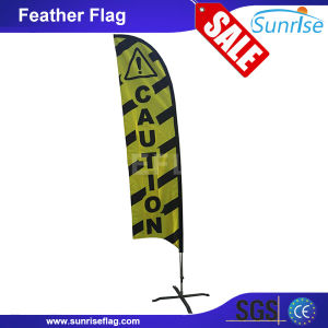 Full Color Printing Custom Outdoor Feather Flag, Warning Flag, Safety Flag pictures & photos