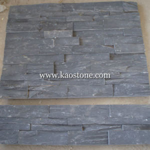 High Quality Black Cultural Stone for Wall Cladding pictures & photos