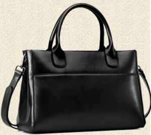 Fashion PU Leather Women Handbags (H80445) pictures & photos
