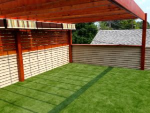 Natural Landscaping Grass Most Popular Durable PE Monofilamenter Artificial Grass pictures & photos