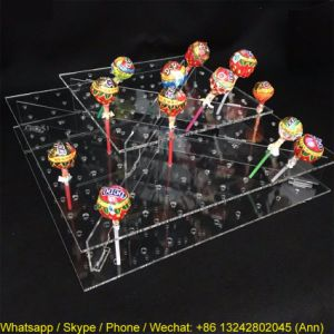 Acrylic Lollipop Display Stand, Acrylic Candy Sweet Holder pictures & photos