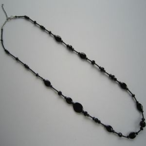Daking Gemstone with Bling Crystal Hand Knotted Cord Necklace pictures & photos