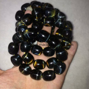 Semi Precious Stone Natural Blue Tiger Eye Crystal Beaded Bracelet Bangles pictures & photos