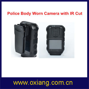 1080P 2′′ Police Body Worn Camera with GPS IR Night Vision pictures & photos