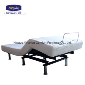 Home Furniture Comfortable American Style Electric Adjustable Massage Bed with Wireless Control pictures & photos