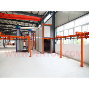 Latest Manual Powder Coating Booth with Recovery System pictures & photos