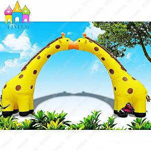 Giraffe Little Deer Air Balloon Model Inflatable Arch for outdoor & Paryty pictures & photos